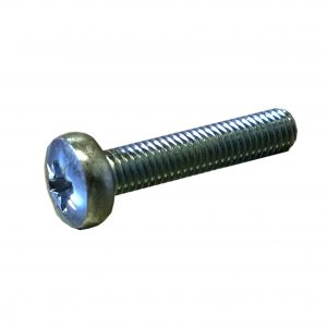 pan head, pozi drive, machine screw, zinc plate