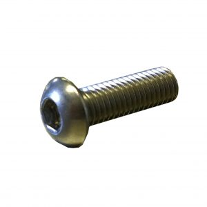 button head, socket drive, machine screw, stainless steel