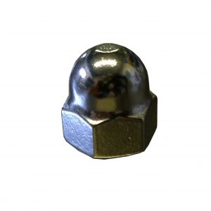 dome nut, stainless steel