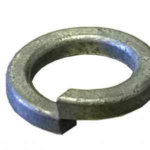 spring washer, zinc plated