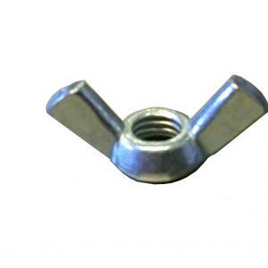wing nut, zinc plate