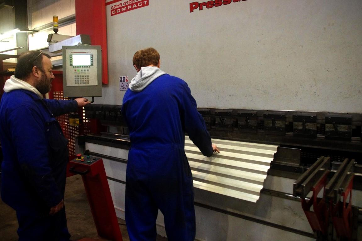 steel bending