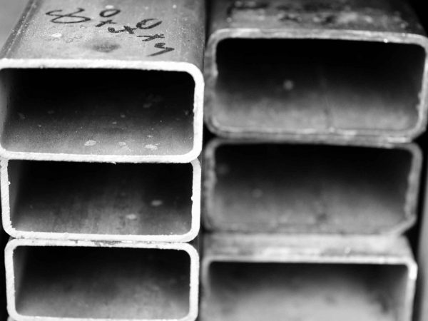 mild steel rec box