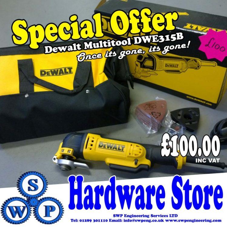 DeWALT DWE315B Multi Tool
