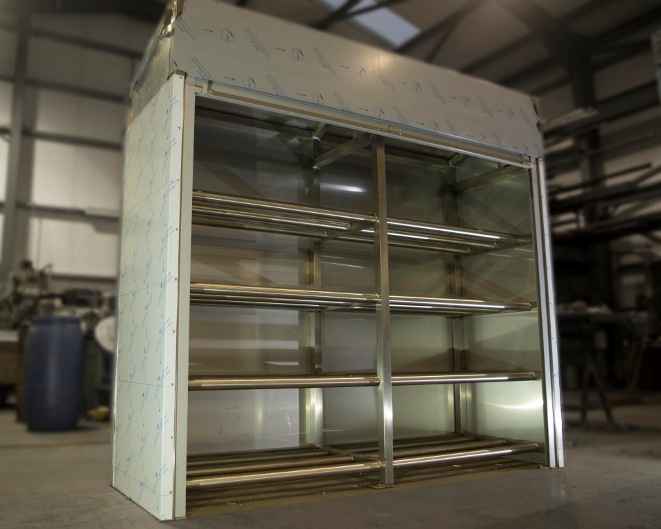 poly roll cabinet