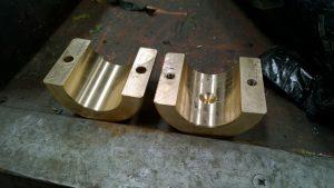bronze hanger bracket