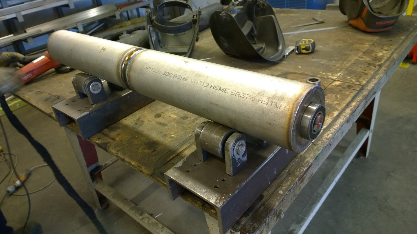 stainless roller