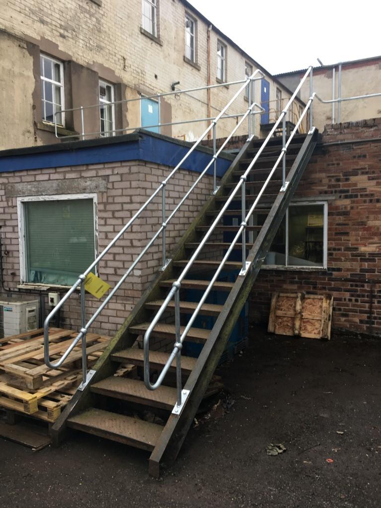 Safety handrail