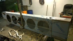 Fabrication almost complete